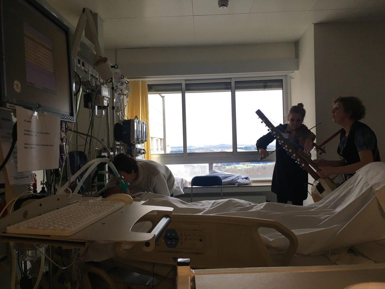 Musique aux soins intensifs: une formidable collaboration entre le Conservatoire Royal de Liège et la Clinique Saint-Joseph